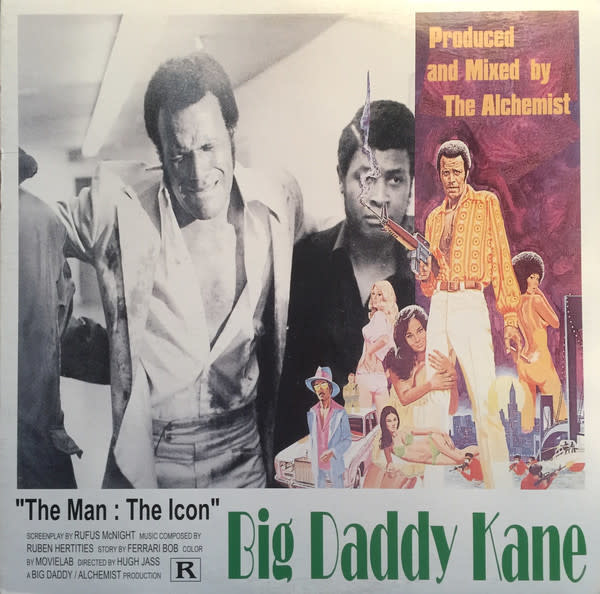 "Big Daddy Kane - The Man: The Icon - Vinyl, 12"", 33 ⅓ RPM - 433859188"