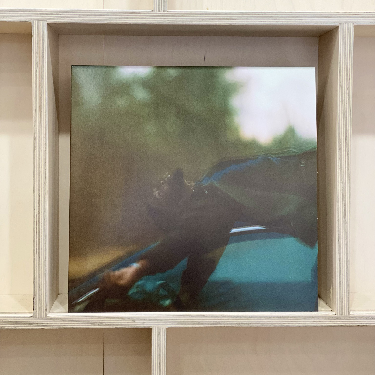 """Latrell James - Under - Vinyl, 12"""", EP, Limited Edition, Numbered, Black"""