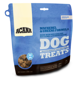 Acana Acana Singles Mackerel & Greens Dog Treat 3.25oz
