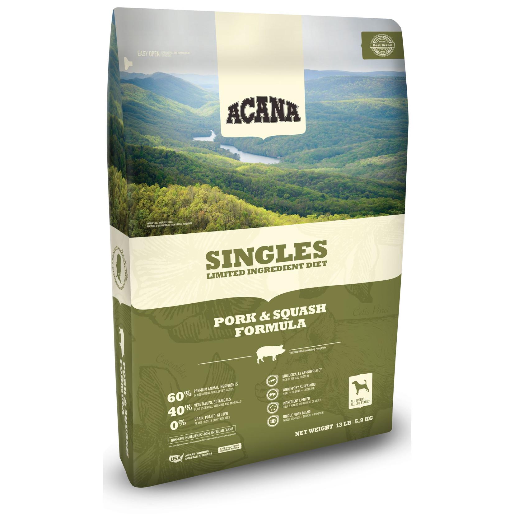 Acana Acana Singles Pork & Squash Dog Food