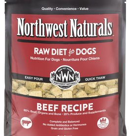 Northwest Naturals Northwest Naturals Frozen Raw Nuggets Beef Dog Food 6lb