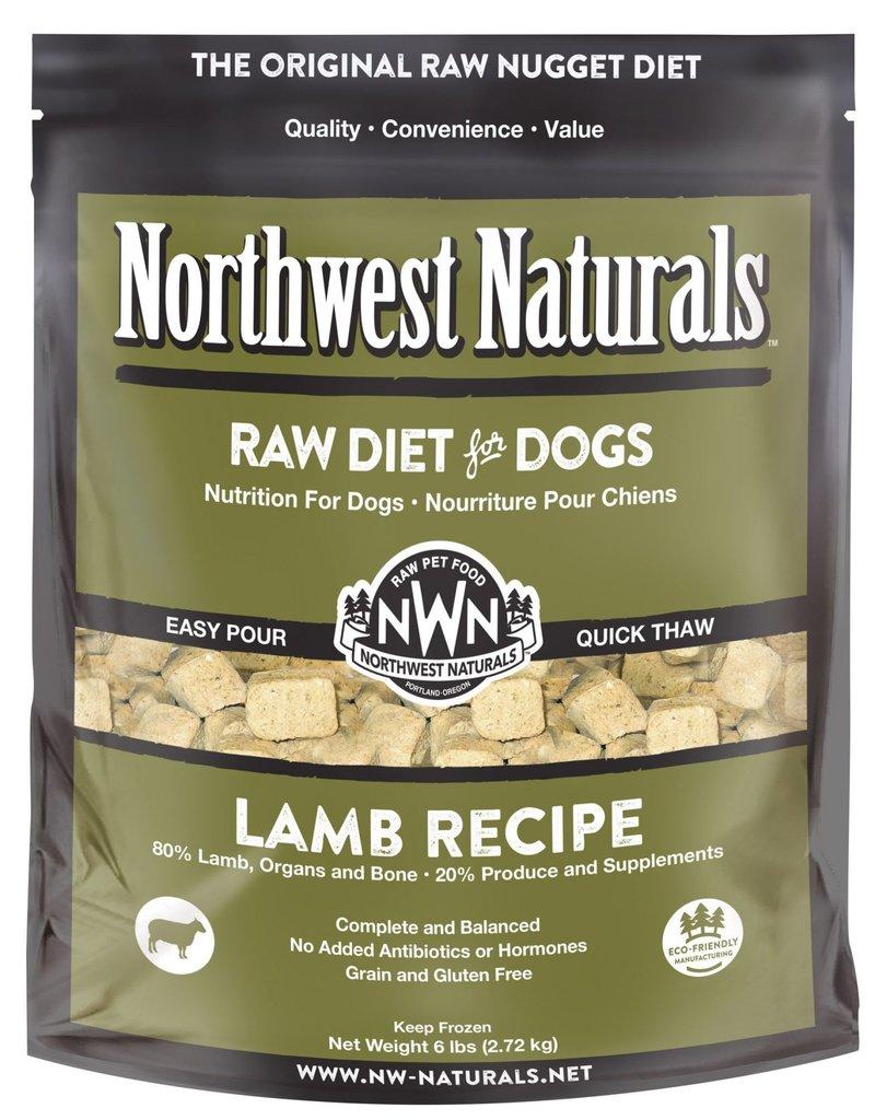 Northwest Naturals Northwest Naturals Frozen Raw Nuggets Lamb Dog Food 6lb