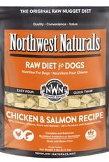 Northwest Naturals Northwest Naturals Frozen Raw Nuggets Chicken & Salmon Dog Food 6lb