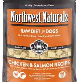 Northwest Naturals Northwest Naturals Frozen Raw Nuggets Chicken & Salmon Dog Food 6lb