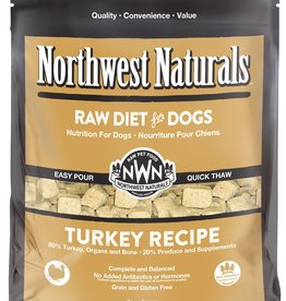 Northwest Naturals Northwest Naturals Frozen Raw Nuggets Turkey Dog Food 6lb