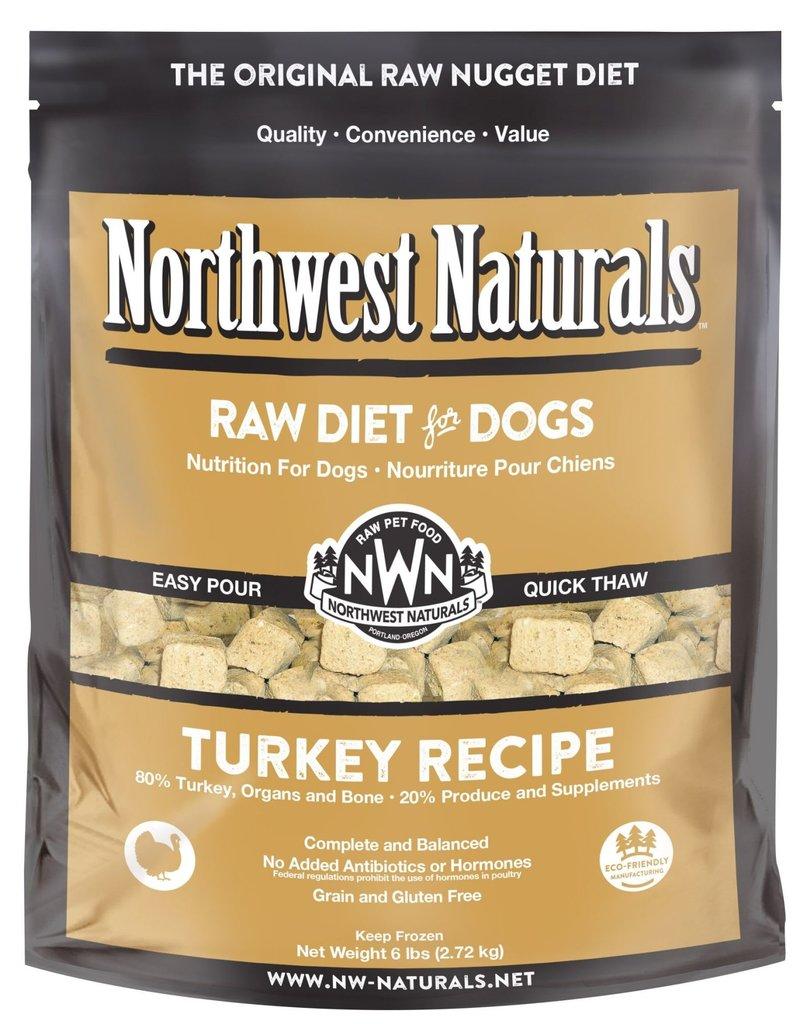 Northwest Naturals Northwest Naturals Frozen Raw Nuggets Turkey Dog Food 6lb