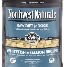 Northwest Naturals Northwest Naturals Frozen Raw Nuggets Whitefish & Salmon Dog Food 6lb