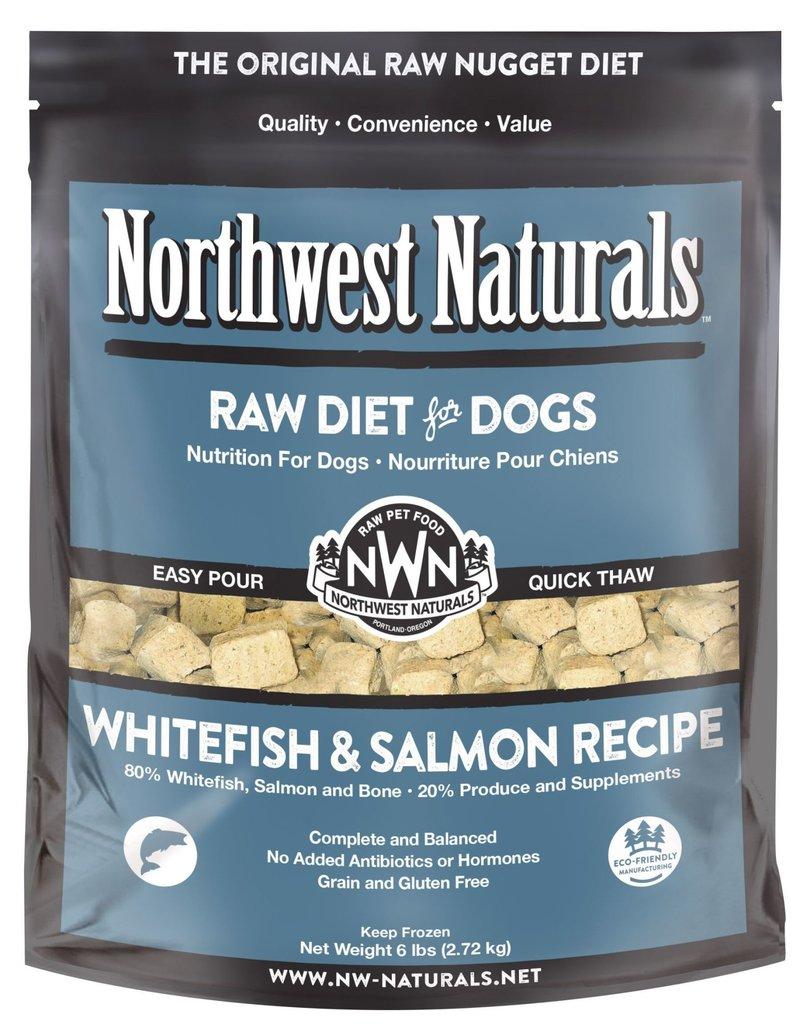 Northwest Naturals Northwest Naturals Frozen Raw Nuggets Whitefish & Salmon Dog Food 6lb