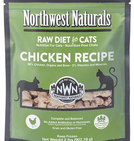 Northwest Naturals Northwest Naturals Frozen Raw Chicken Cat Food 2lb