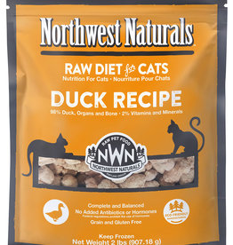 Northwest Naturals Northwest Naturals Frozen Raw Duck Cat Food 2lb