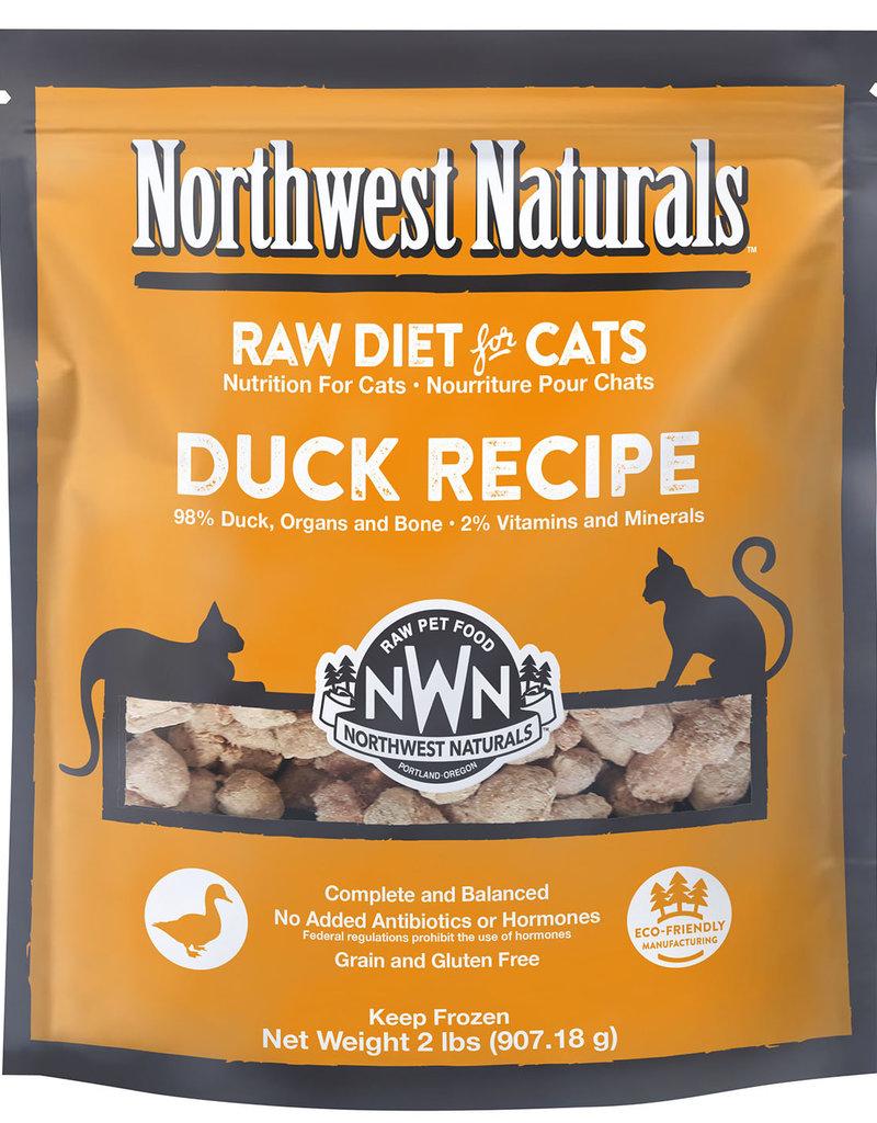 Northwest Naturals Northwest Naturals Frozen Raw Duck Cat Food 2lb