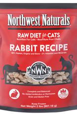 Northwest Naturals Northwest Naturals Frozen Raw Rabbit Cat Food 2lb