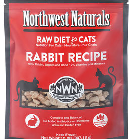 Northwest Naturals Northwest Naturals Frozen Raw Rabbit Cat Food 2lb