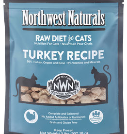 Northwest Naturals Northwest Naturals Frozen Raw Turkey Cat Food 2lb