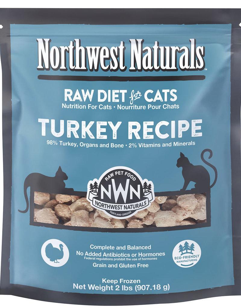 Northwest Naturals Northwest Naturals Frozen Raw Turkey Cat Food 2lb