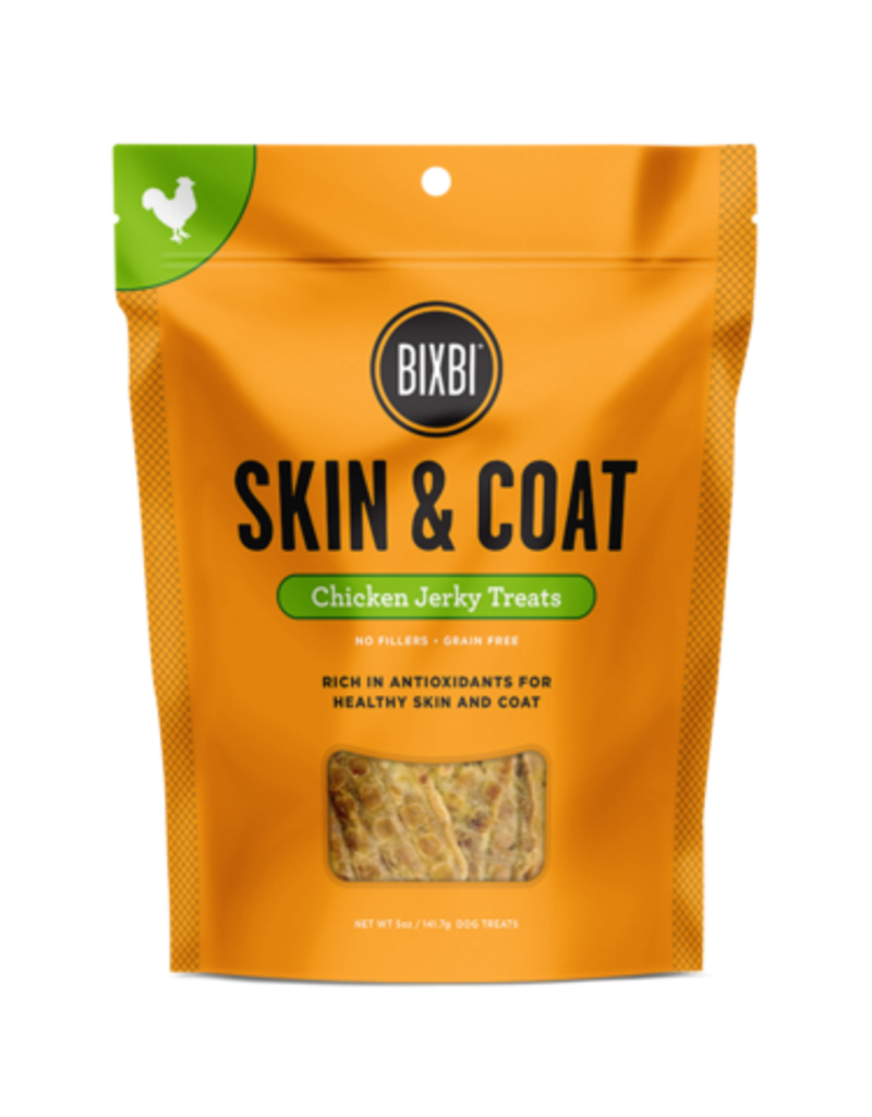 Bixbi Bixbi Skin & Coat Chicken Jerky Dog Treat 5oz