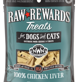 Northwest Naturals Northwest Naturals Freeze Dried Dog & Cat Treat Chicken Liver 3oz