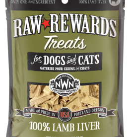 Northwest Naturals Northwest Naturals Freeze Dried Dog & Cat Treat Lamb Liver 3oz