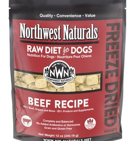 Northwest Naturals Northwest Naturals Freeze Dried Raw Nuggets Beef 12oz Dog