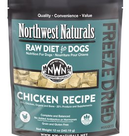 Northwest Naturals Northwest Naturals Freeze Dried Raw Nuggets Chicken Dog 12oz