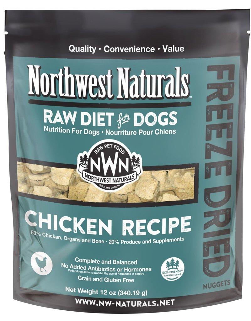 Northwest Naturals Northwest Naturals Freeze Dried Raw Nuggets Chicken Dog 12oz