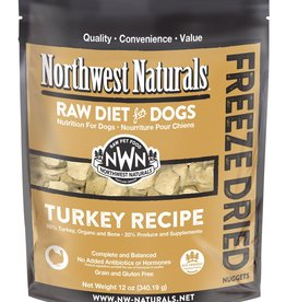 Northwest Naturals Northwest Naturals Freeze Dried Raw Nuggets Turkey 12oz Dog