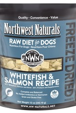 Northwest Naturals Northwest Naturals Freeze Dried Raw Nuggets Whitefish & Salmon Dog Food 12oz
