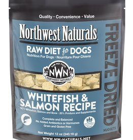 Northwest Naturals Northwest Naturals Freeze Dried Raw Nuggets Whitefish & Salmon Dog Food 12oz