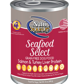 Nutrisource NutriSource Seafood Select Canned Dog Food 13oz
