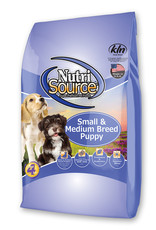 Nutrisource NutriSource Small & Medium Breed Puppy Chicken & Rice Food