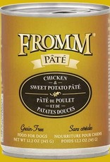 Fromm Family FROMM Chicken & Sweet Potato Pâté Canned Dog Food 12.2oz