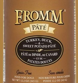 Fromm Family Fromm Turkey, Duck, & Sweet Potato Pâté Canned Dog Food 12.2oz