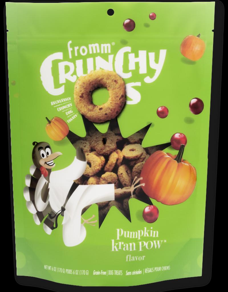 Fromm Family Fromm Crunchy O's Pumpkin Kran Pow Dog Treats 6oz