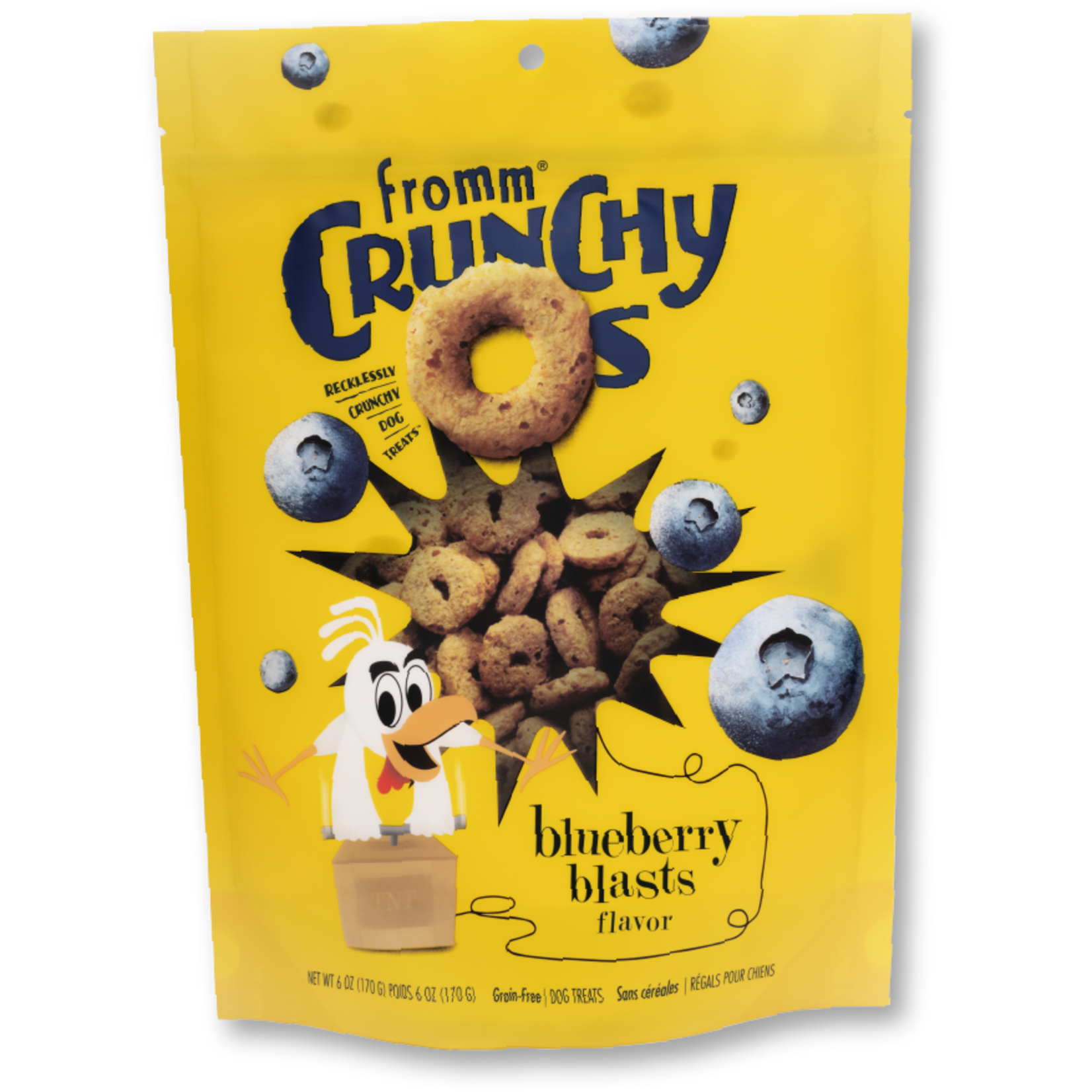 Fromm Family Fromm Crunchy O's Blueberry Blast Dog Treats 6oz