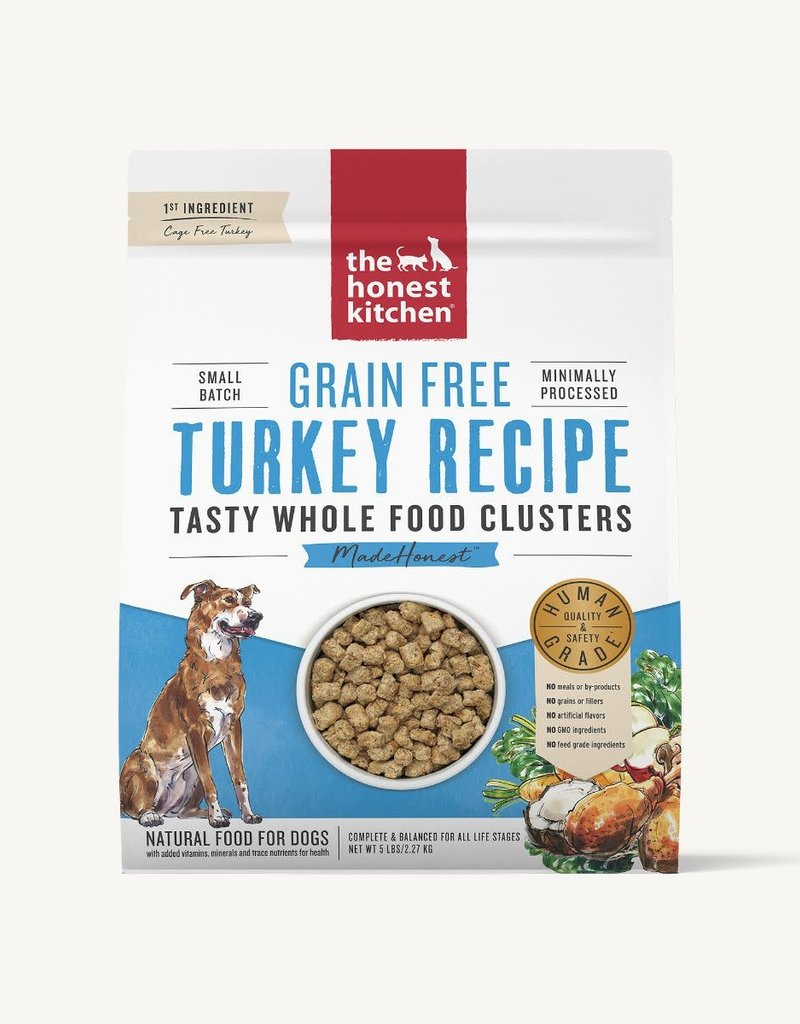 Honest Kitchen Whole Food Clusters Grain Free Turkey Dog Food