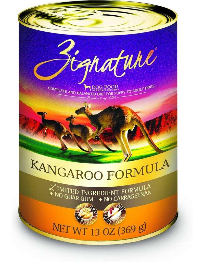Zignature Zignature Kangaroo Canned Dog Food 13oz