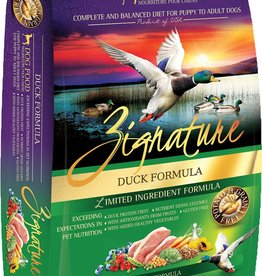 Zignature Zignature Duck Dog Food