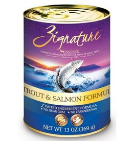 Zignature Zignature Trout and Salmon Canned Dog Food 13oz