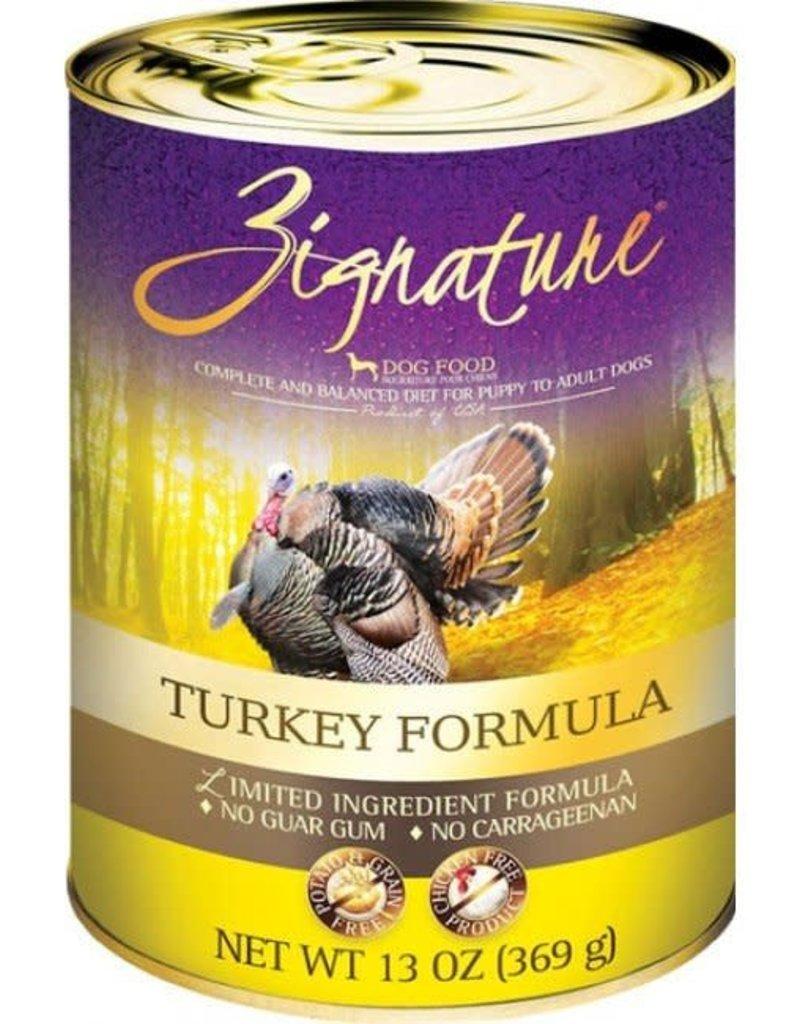 Zignature Zignature Turkey Canned Dog Food 13oz
