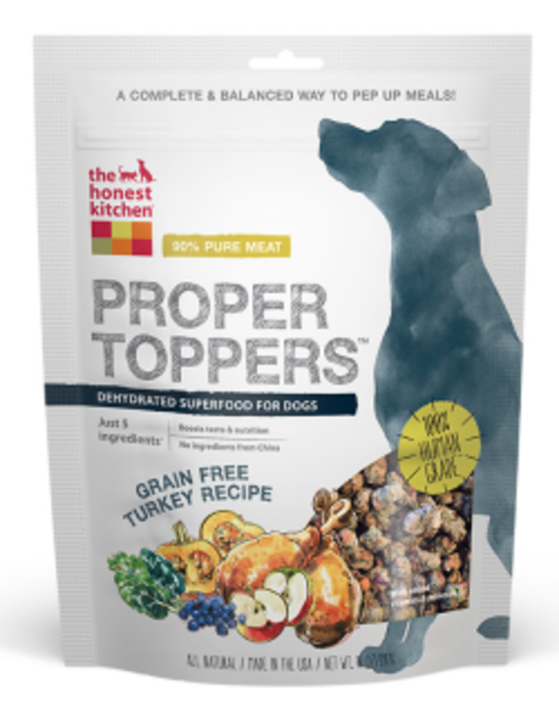 Honest Kitchen Proper Topper Turkey Dog Food Topper 5.5oz