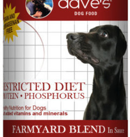 Dave's Pet Food Dave's Restricted Diet Protein Phosphorus Farmyard Blend Canned Dog Food 13oz