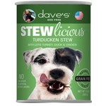 Dave's Pet Food Dave's Stewlicious Turducken Stew Canned Dog Food 13oz