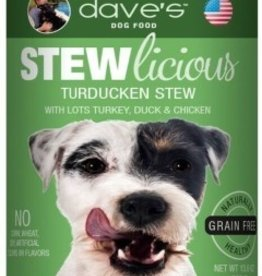Dave's Pet Food Dave's Stewlicious Turducken Stew Canned Dog Food 13oz