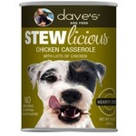 Dave's Pet Food Dave's Stewlicious Chicken Casserole Canned Dog Food 13oz
