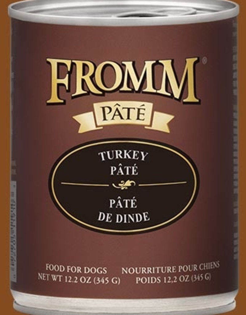 Fromm Family Fromm Turkey Pâté Canned Dog Food 12.2oz