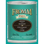 Fromm Family Fromm Chicken & Duck Pâté Canned Dog Food 12.2oz