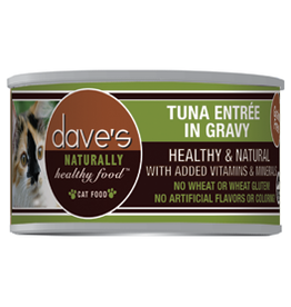 Dave's Pet Food Dave's Tuna in Gravy Canned Cat Food 5.5oz
