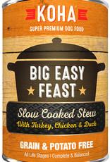 Koha KOHA Big Easy Feast Stew Turkey, Chicken & Duck Canned Dog Food 12.7oz