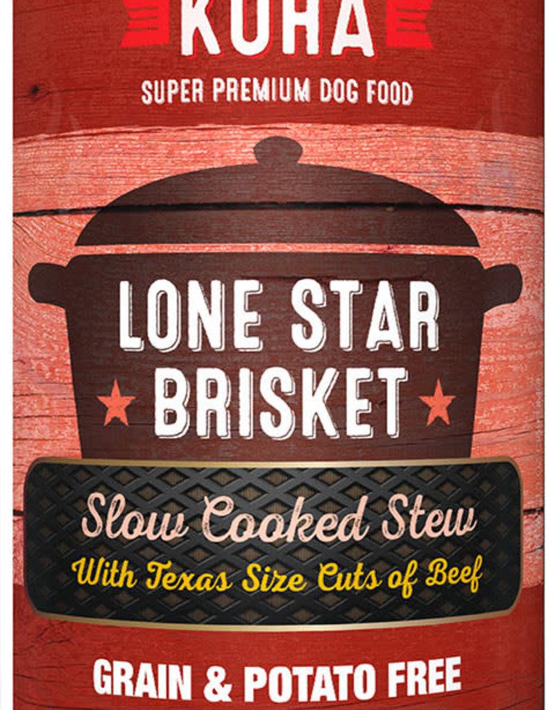 Koha KOHA Lone Star Brisket Stew Beef Canned Dog Food 12.7oz