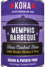 Koha KOHA Memphis BBQ Stew Chicken & Pork Canned Dog Food 12.7oz